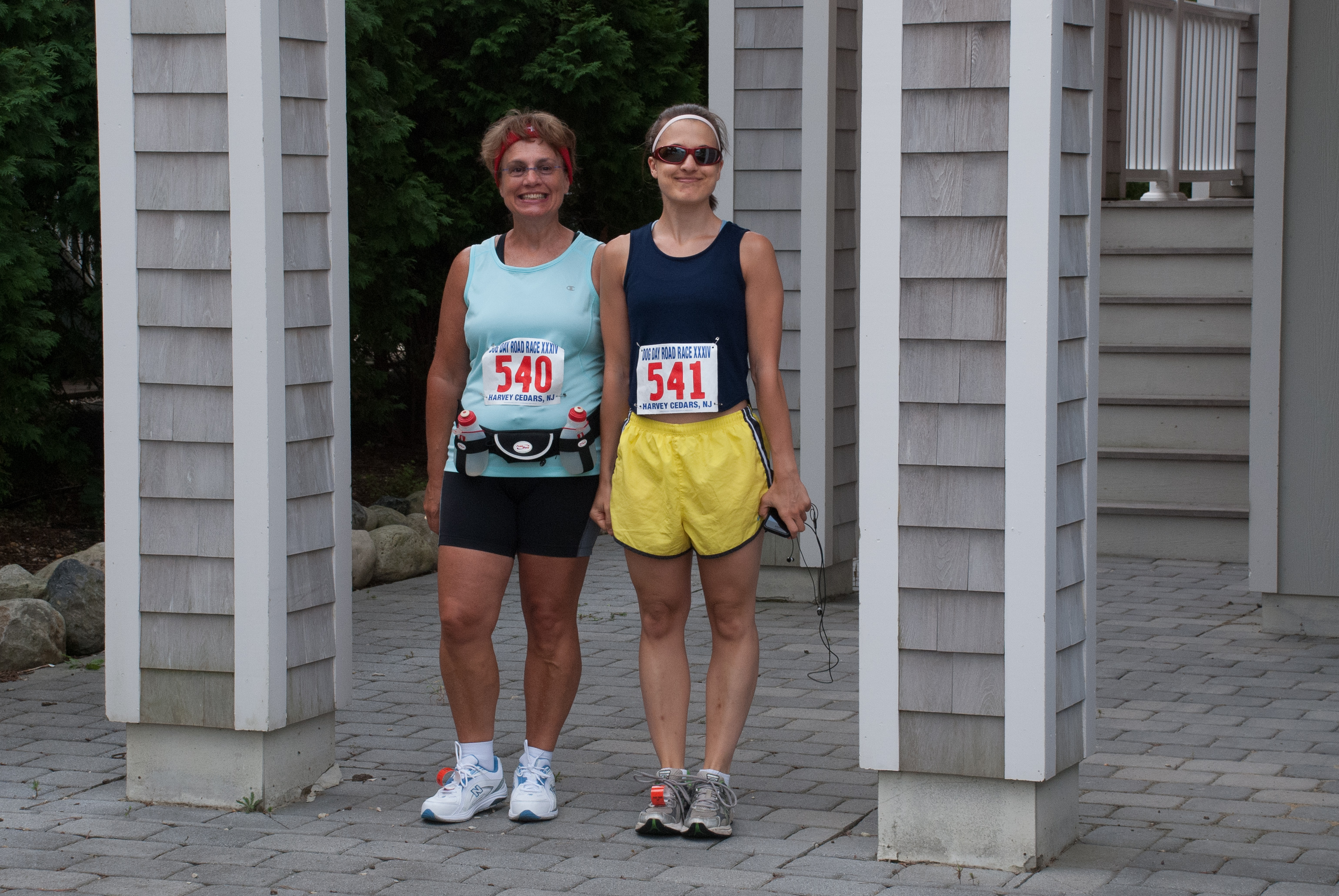 DSC_9965.jpg - This will be Jayne's fourth and Jackie's third Dog Day Race.
