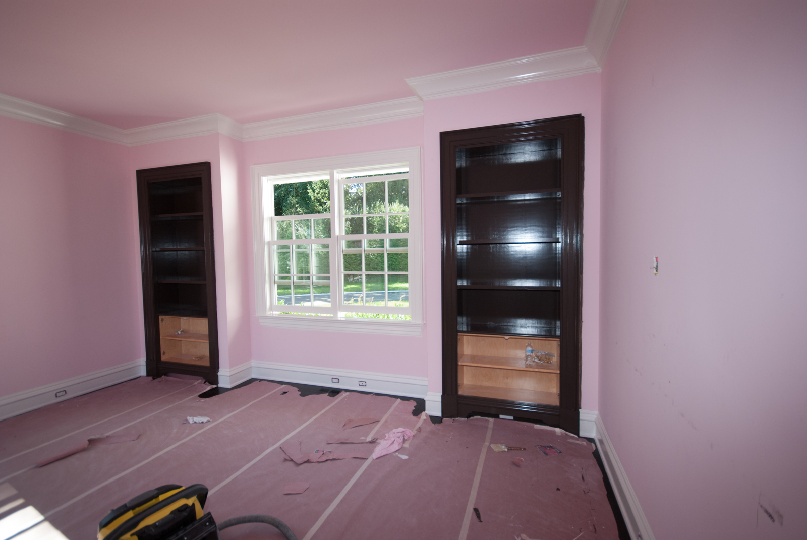 DSC_2546.jpg - The bookshelves are painted, as are the baseboards and crowns in my study.