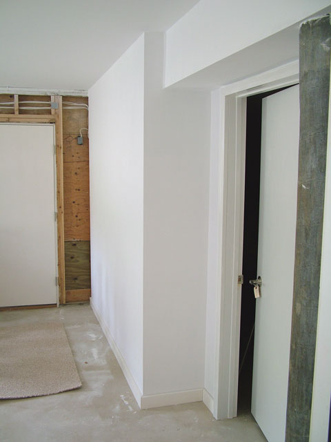 New House Construction Interior Finishing
